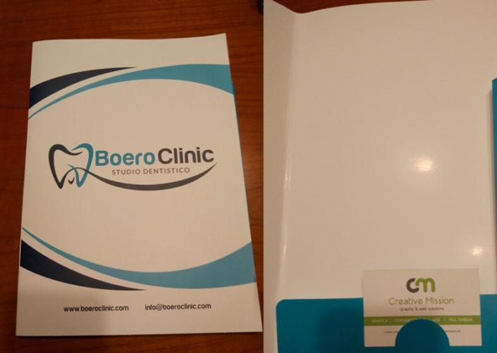 Cartella Porta documenti Boero Clinic