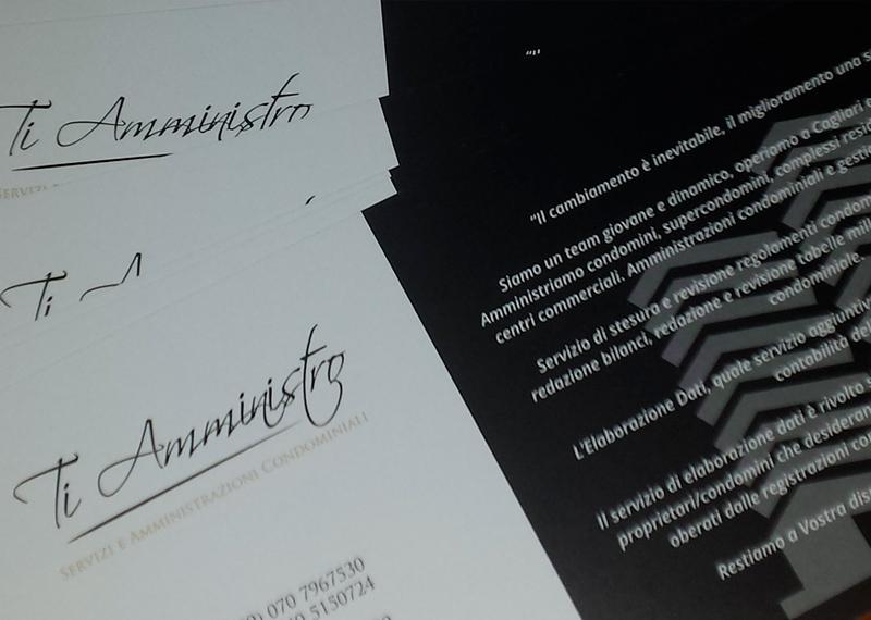 Ti Amministro Studio e e stampa immagine coordinata aziendale